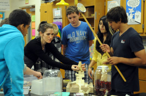 Eden Teaching a Class in New Jersey in 2012
