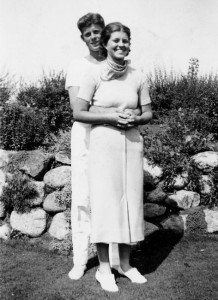 Jack Kennedy and Rosie
